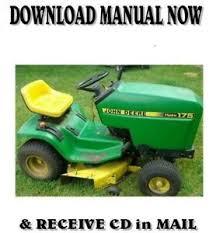 john deere hydro 175 lawn tractor