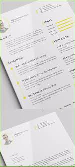 Modern Cv Resume Template For Ai Free Resume Template Psd Astonishing Figure 85 Free Cv Indesign
