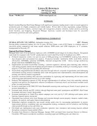 Sample Resume Of Sales Manager In Real Estate New Real Estate