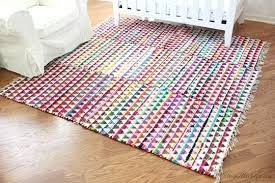 small rugs small colorful rugs sewn together for one large rug in nursery small round rug