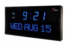 glamorous battery operated clocks battery alarm clock target digital clock with day month and year inspirational digital battery operated wall clock