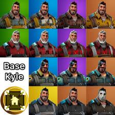 Base Kyle Rarity Chart Fortnite