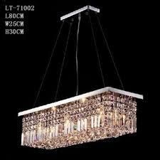 crystal pendant lighting. Modern Rectangle Crystal Lightingwholesale Pendant Light 71002 Lighting