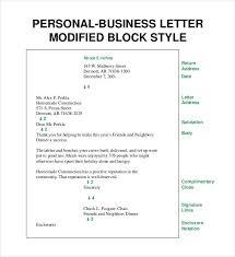 Example Of Full Block Business Letter Style Filename Reinadela Selva