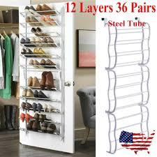 36 pair over the door shoe rack for