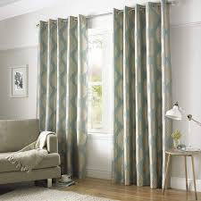 ashley wilde simone lined eyelet curtains duck egg gold beige shimmer curtains
