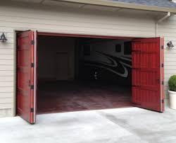 bi fold garage doorsBi fold Garage Door  Nonwarping patented honeycomb panels and