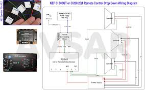 wiring diagram for the remote control of kef motorized speakers click image for larger version avsar kef motorized speaker remote