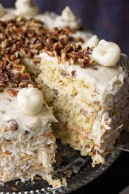 Italian Cream Cake Recipe Feast And Farm