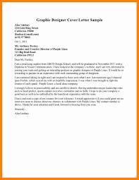 Graphic Designer Cover Letter 2017 9 Graphic Design Cover Letter Sample Letter Signature