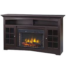 electric fireplace stove. huntley 59 inch media electric fireplace - espresso stove