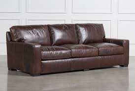Top Grain Leather Living Room Set Top Grain Leather Furniture Living Spaces
