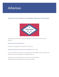 Florida Insurance Commissioner Complaint Form Ohye Mcpgroup Co