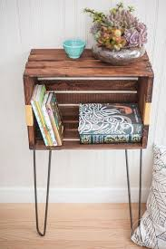 wood crate furniture diy. DIY Wood Crate Console Table And Shelf Furniture Diy