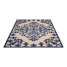wayfair com area rugs aloha navy indoor outdoor area rug no wayfair area rugs 4 x