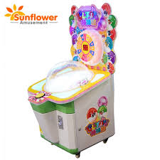 Lollipop Vending Machine Cool Coin Operated Kids Play Indoor Game Lollipop Candy Vending Machine