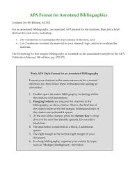 017 Template Ideas Annotated Bibliography Apa Format 87359