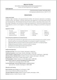 Post Office Mail Handler Resume Cover Letter Application Cover