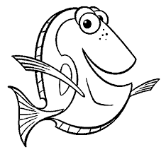 Small Picture Finding Nemo Dory Finding Nemo Coloring Pages Pinterest