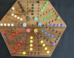 Wooden Aggravation Board Game Aggravation board Etsy 17