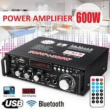 <b>12V</b>/ <b>220V BT-298A</b> 2CH LCD Display HIFI Audio Stereo Power ...
