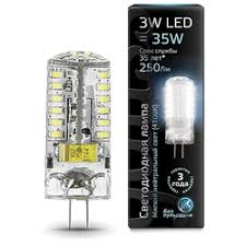 «<b>Лампа Gauss</b> LED <b>G4</b> AC150-265V <b>3W</b> 4100K» — Результаты ...