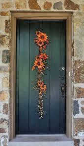 diy fall flower door hanger 21 diy fall door decorations see more at http aaron office door decorated