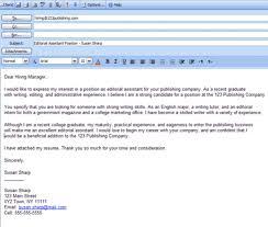 12 Tips For Better Email Cover Letters Samplebusinessresume Com
