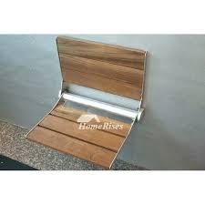 folding seats for showers luxury teak shower seats solid teak shower seat wall mount wood teak
