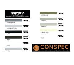 Ge Silicone Color Chart Tremco Spectrum 2 Structural Silicone Sealant Conspec