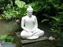 buddha garden. Garden Pond With Buddha Statue : Statues In Your Yard S