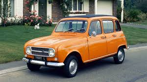 Orange Renault 4 - PetrolBlog