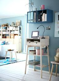 ikea desk shelf office shelves a corner in the with a standing desk where you can ikea desk