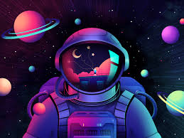 Live gift | Space drawings, Astronaut ...