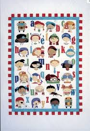 41 best Baby & Kids quilts images on Pinterest | Appliques, Board ... & Alphabet Quilt Adamdwight.com