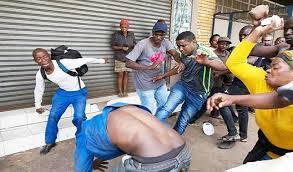 Image result for violent south africa xenophobia