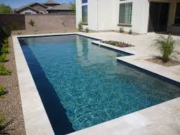 classic pool with blue water line tile contemporary swimming pool and hot