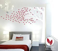 Elegant Giant Wall Decals Corner Tree Wall Decal Large Wall Decal Custom Wall Art Giant  Wall Stickers