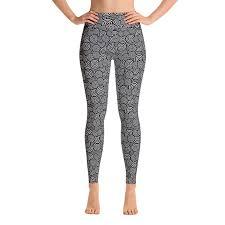 Pattern Yoga Pants