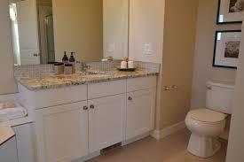 install a bathroom vanity easier than