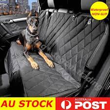 waterproof premium pet cat dog back car seat cover hammock nonslip mat protector