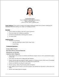 Resume Vitae