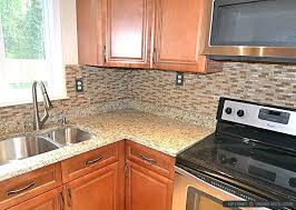 Backsplash For Santa Cecilia Granite Countertop Extraordinary Santa Cecilia Granite Backsplash Granite White Cabinets Ideas St