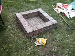 build outdoor fire pit grill