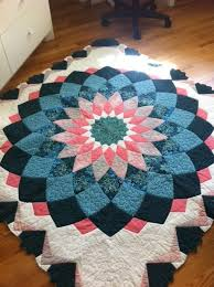 40 best Quilts - Dahlia images on Pinterest | Hats, Christmas tree ... & Dahlia quilt Adamdwight.com