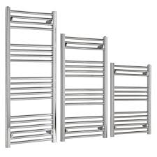 towel rail. Straight Heated Towel Rail Thermostatic Electric With Built In 24:7 Timer