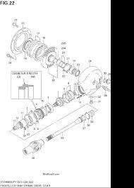 2003 suzuki vs1400glp intruder propeller shaft final drive gear parts 2003 suzuki vs1400glp intruder