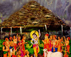 Top Bhagwan Krishna Govardhan Mountain pictures for free download