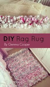 Fabric Rug Diy Best 25 Rag Rug Diy Ideas On Pinterest Rag Rug Tutorial Diy