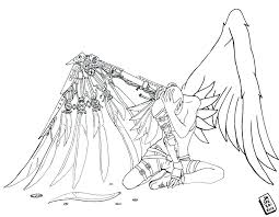 Free Printable Angel Colouring Pages Coloring Page Color Anime Pr